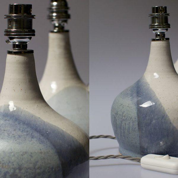 Ceramic Lamps by Corinna Pyman